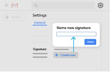 Créer une nouvelle signature