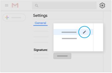 Modifier une signature existante