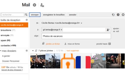 Envoyer le mail